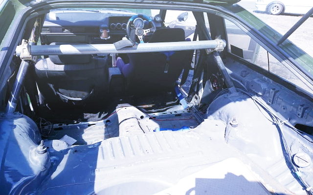 TWO SEATER FOR AE70 COROLLA COUPE
