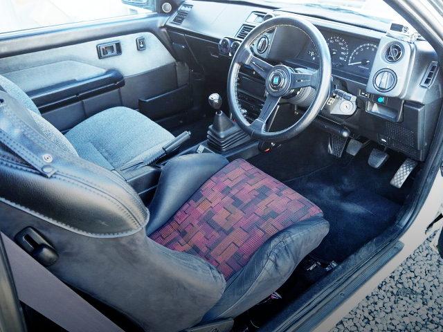 AE86 LEVIN GTV INTERIOR