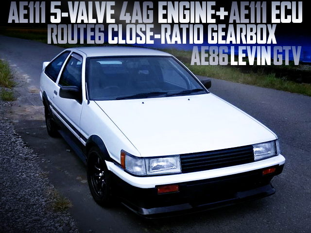 5V 4AG AND CLOSE-RATIO GEARBOX INTO A AE86 LEVIN GTV