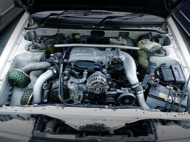 13B-REW ROTARY ENGINE INTO A AE86 ENGINE ROOM