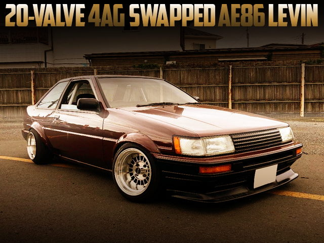 20V 4AG SWAPPED AE86 COROLLA LEVIN BROWN