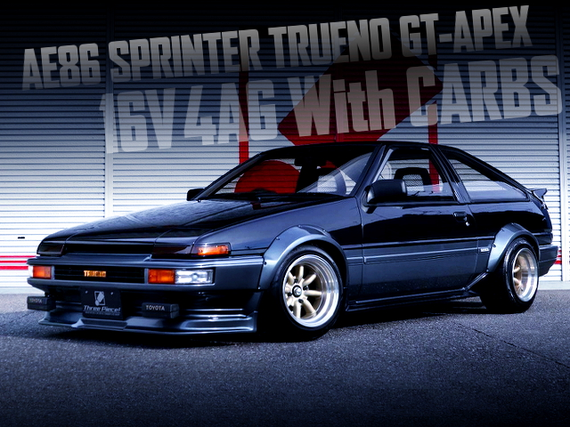 16V 4AG with CARBS TO AE86 TRUENO GT-APEX