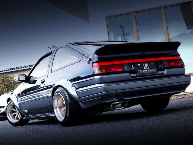 REAR EXTERIOR AE86 TRUENO GT-APEX With CBY WIDEBODY KIT
