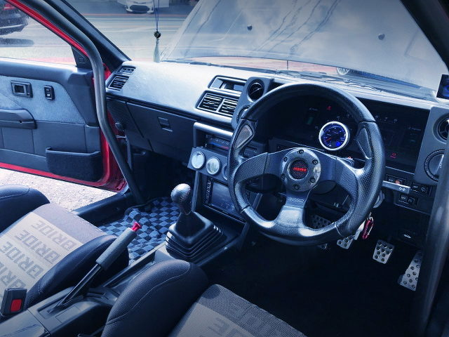 AE86 TRUENO DASHBOARD AND GAUGES