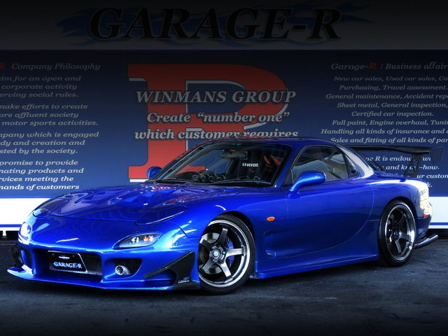 FRONT EXTERIOR OF FD3S RX7 TYPE-RB S-PACKAGE