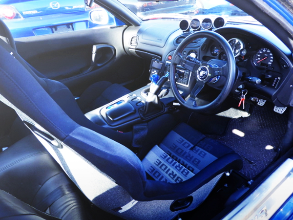 INTERIOR OF FD3S RX7 TYPE-RB S-PACKAGE