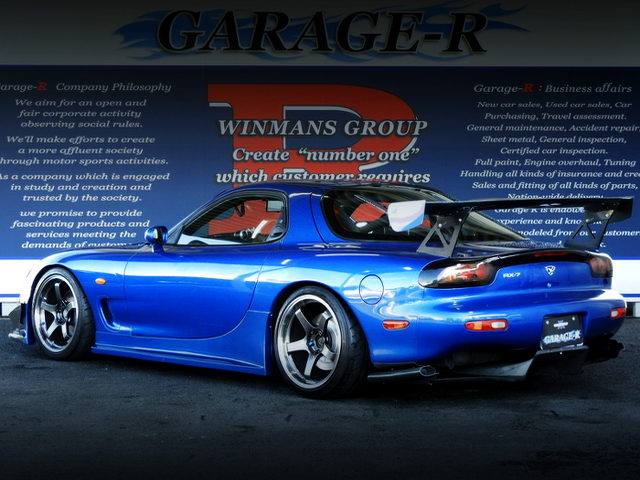 REAR EXTERIOR OF FD3S RX7 TYPE-RB S-PACKAGE