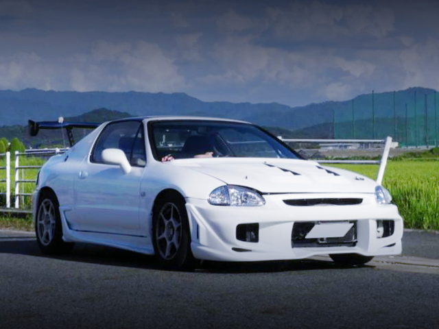 EXTERIOR CR-X DELSOL WHITE