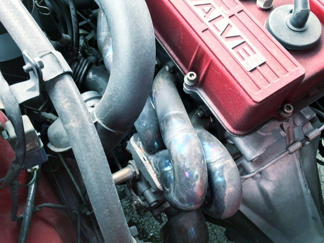 TURBO EXHAUST MANIFOLD FOR FJ20ET ENGINE