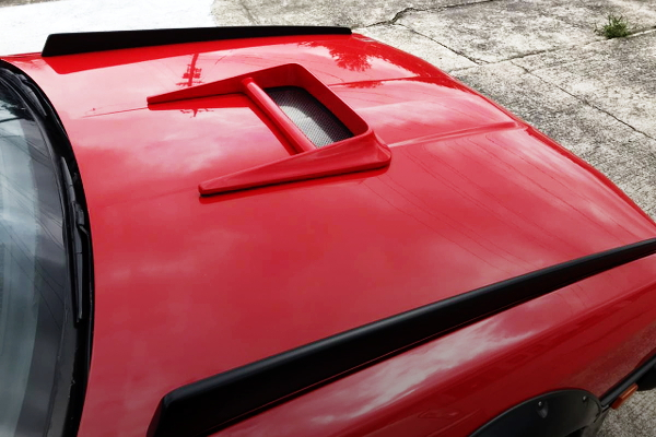 HOOD AIR DUCT FOR DR30 SKYLINE
