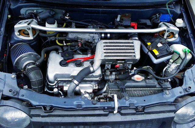 K6A TWINCAM INTERCOOLER TURBO ENGINE