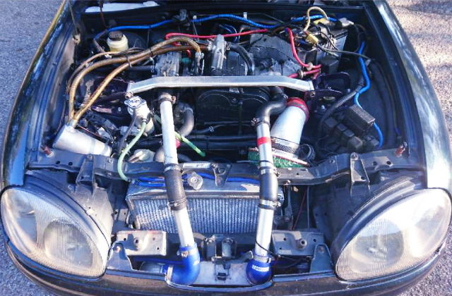 F6A TWINCAM TURBO ENGINE FOR EA11R MOTOR