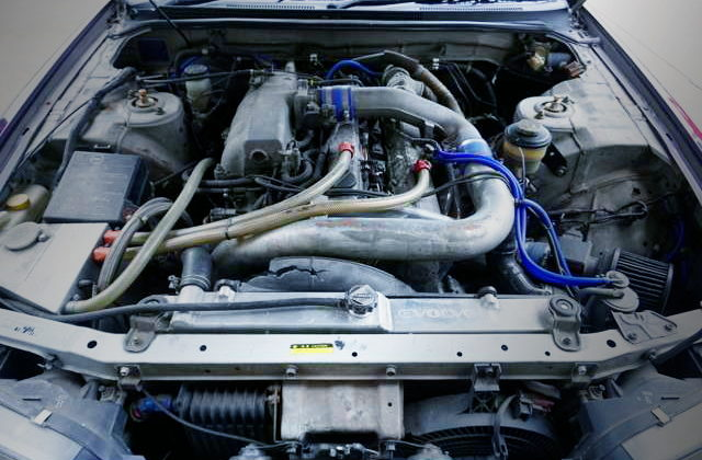 RB25DET TURBO ENGINE OF ECR33 MOTOR