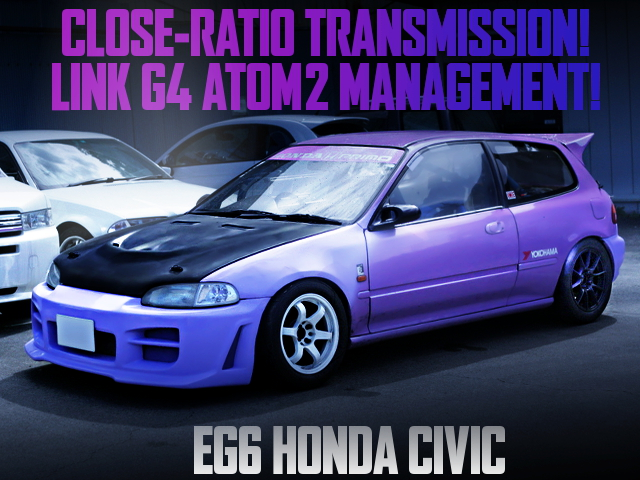 CLOSE RATIO GEARBOX AND LINK G4 ATOM 2 With EG6 CIVIC