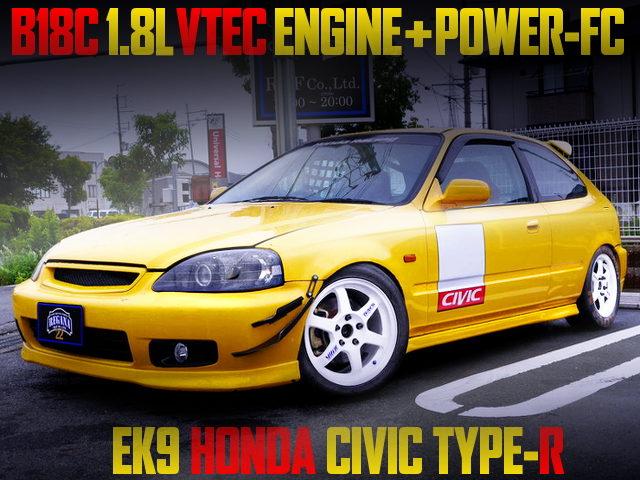 B18C 1800cc VTEC SWAPPED EK9 CIVIC TYPE-R