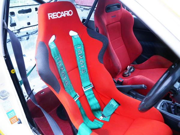 INTERIOR RECARO SEATS
