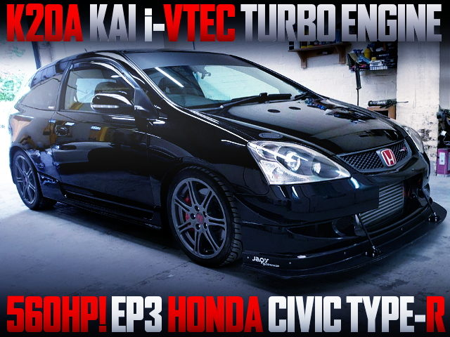 K20A i-VTEC TURBO ENGINE INTO EP3 CIVIC TYPE-R