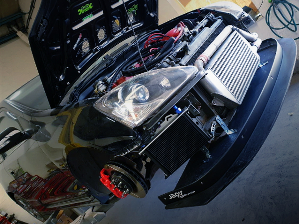FRONT MOUNT INTERCOOLER FOR EP3 CIVIC TYPE-R