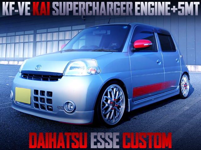SUPERCHARGED KF-VE INTO A DAIHATSU ESSE CUSTOM