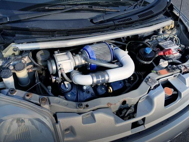 KF-VE SUPERCHARGER ENGINE