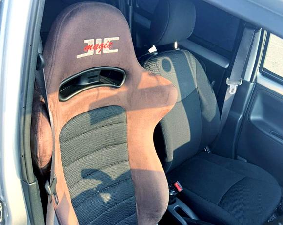 DRIVER OF SEMI BUCKET SEAT