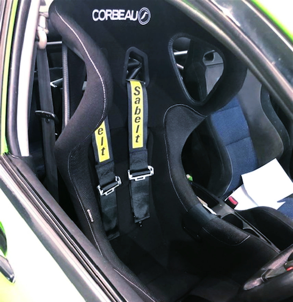 DRIVER RACING BUCKET SEAT FOR EVO7 RS INTERIOR