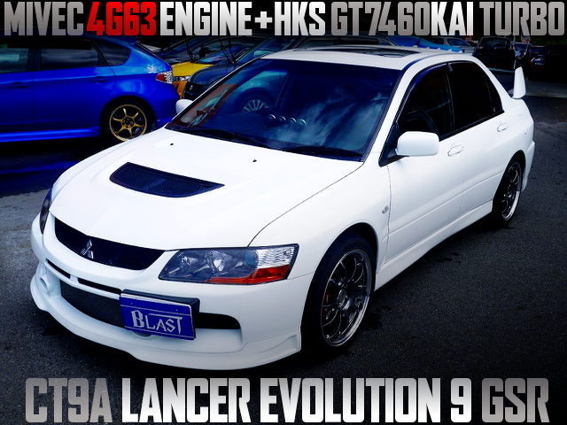 HKS GT7460 TURBOCHARGED LANCER EVOLUTION 9 GSR