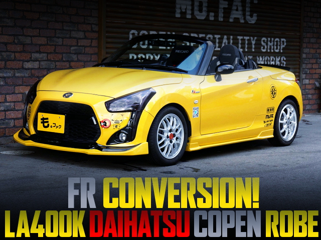 FR CONVERSION TO LA400K COPEN ROBE
