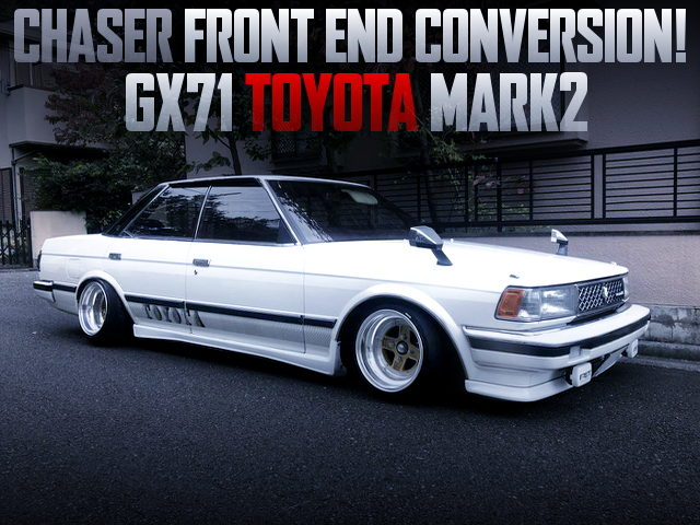 CHASER FRONT END CONVERSION GX71 MARK2 WHITE
