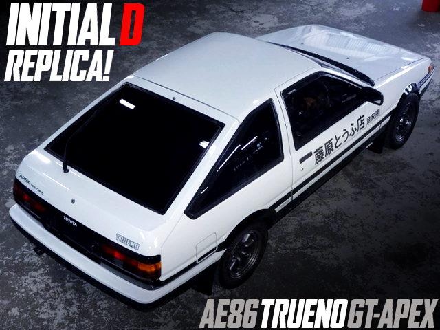 INITIAL-D FUJIWARA TOFU SHOP REPLICA TO AE86 TRUENO