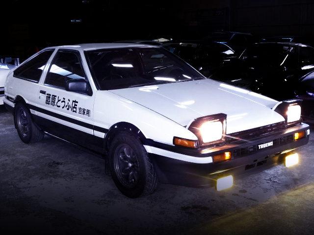 FRONT EXTERIOR OF AE86 TRUENO GT-APEX
