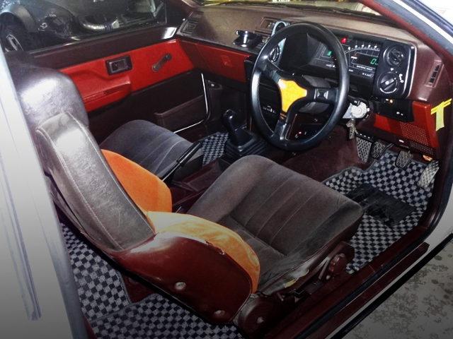 AE86 TRUENO GT-APEX INTERIOR