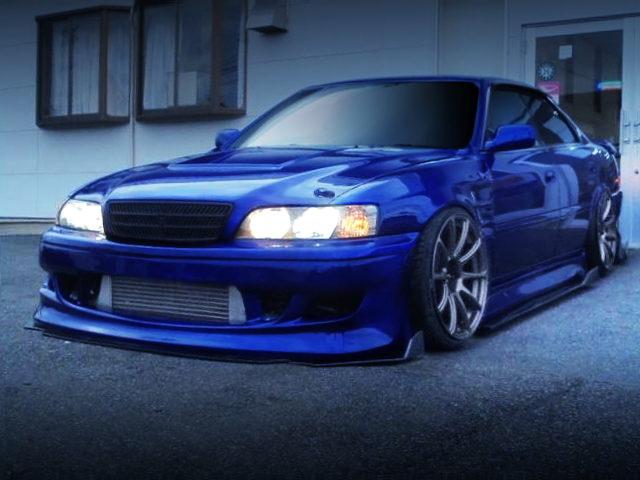 FRONT EXTERIOR JZX100 CHASER TOURER-V BLUE