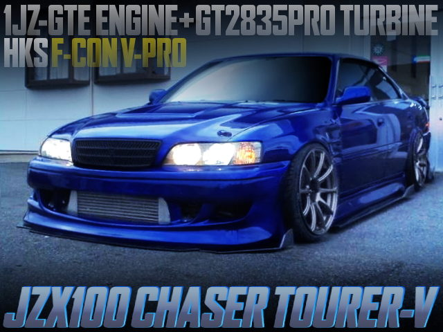 GT2835PRO TURBO AND F-CON V-PRO WITH JZX100 CHASER TOURER-V