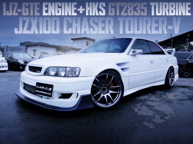 HKS GT2835 TURBOCHARGED JZX100 CHASER TOURER-V
