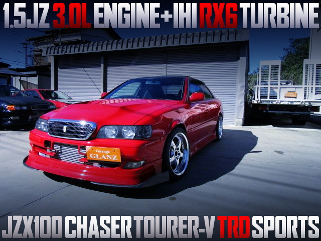 15JZ ENGINE with IHI RX6 TURBO INTO JZX100 CHASER TOURER-V TRD SPORTS