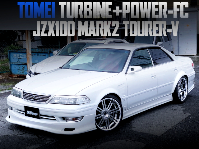 TOMEI TURBINE AND POWER-FC WITH JZX100 MARK2 TOURER-V