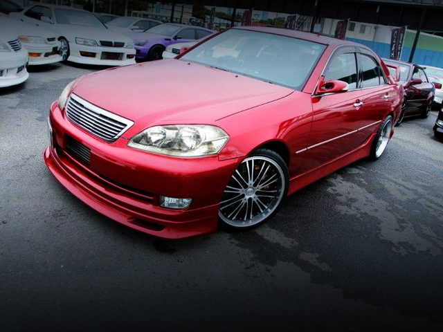 FRONT EXTERIOR JZX110 MARK2 iRV WITH METALLIC RED