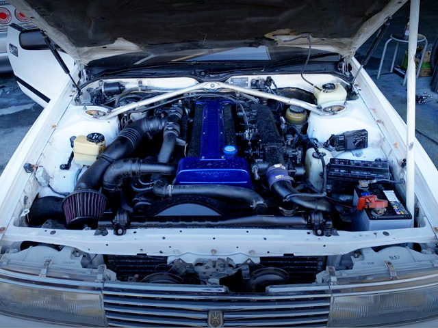 1JZ-GTE TWINTURBO ENGINE