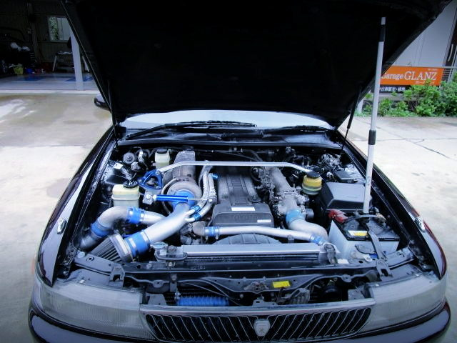 1JZ-GTE WITH TD06H SINGLE TURBO
