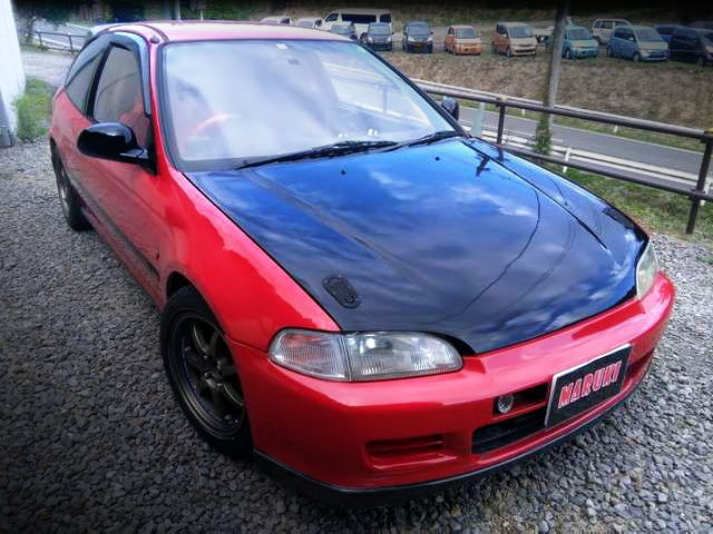 FRONT EXTERIOR OF EG6 CIVIC SiR2