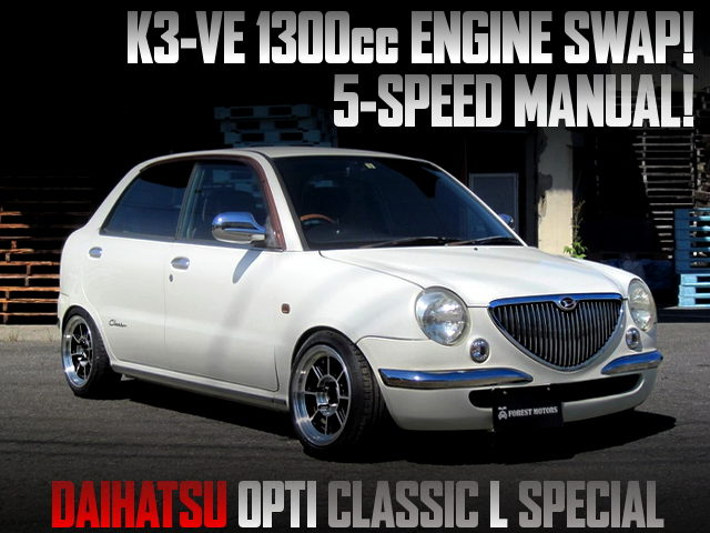 K3-VE 1300cc AND 5MT SWAPPED L800S OPTI CLASSIC L SPECIAL
