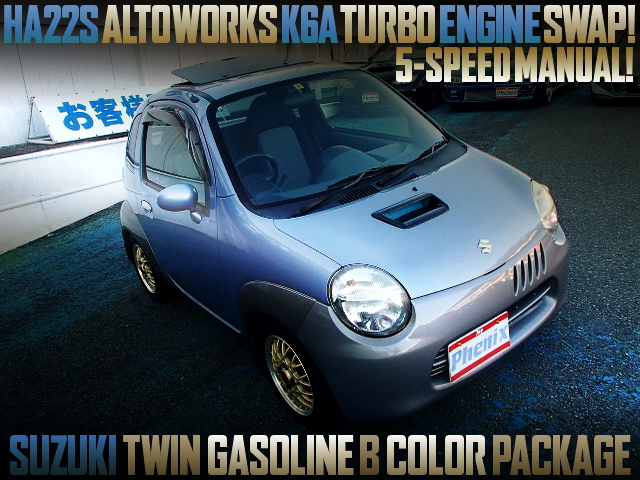 ALTOWORKS K6A TURBO ENGINE SWAPPED SUZUKI TWIN GASOLINE B COLOR PACKAGE