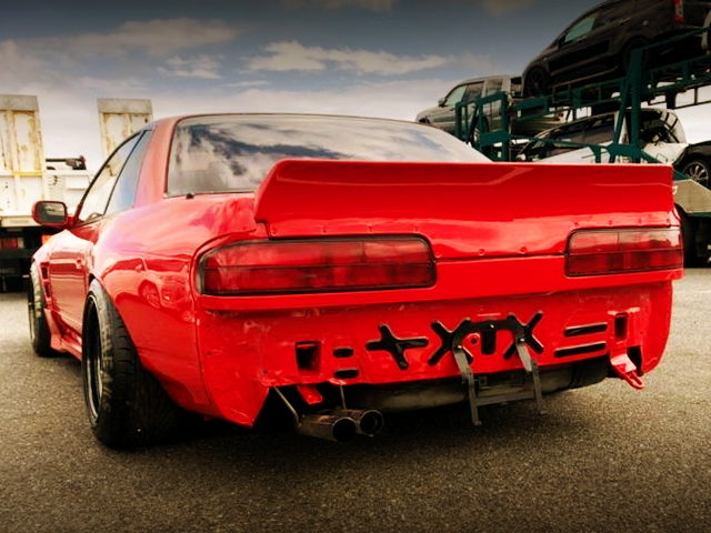 REAR BUMPER DELETE OF S13 SILVIA Ks