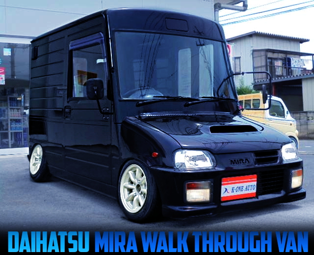 CAMBAR AND STANCE CUSTOM OF L200 DAIHATSU MIRA WALK THROUGH VAN