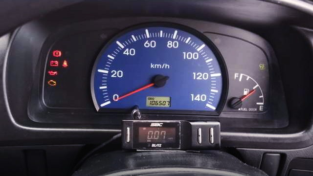 140km SPEED CLUSTER
