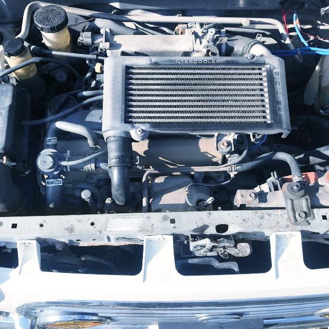 INLINE-FOUR JB TURBO ENGINE