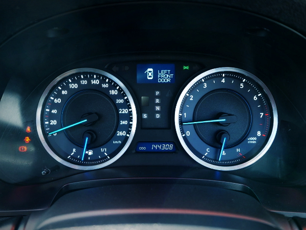 260km SPEED CLUSTER FOR LEXUS IS350