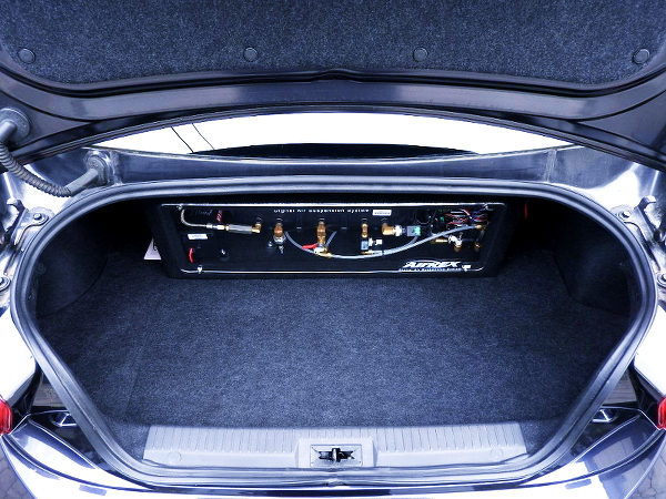 AIR SUSPENSION SYSTEM FORTRUNK ROOM