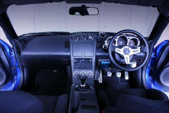 Z33 FAIRLADY Z INTERIOR DASHBOARD
